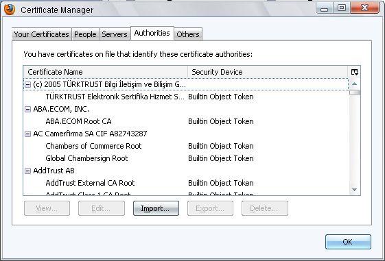 BPSCA | Root Certificate Installer